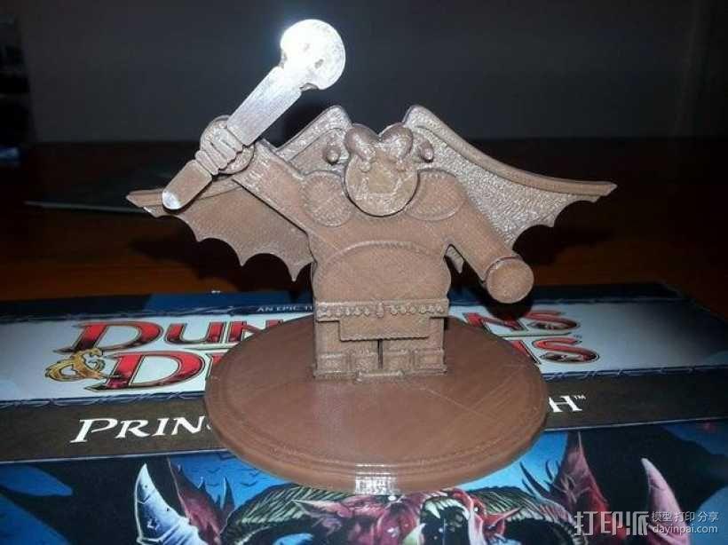矮人战士 3D模型  图1