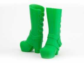 长筒靴 3D模型