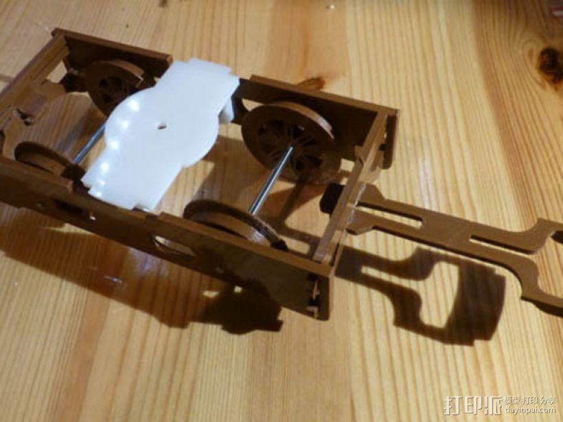 火车模型 3D模型  图2