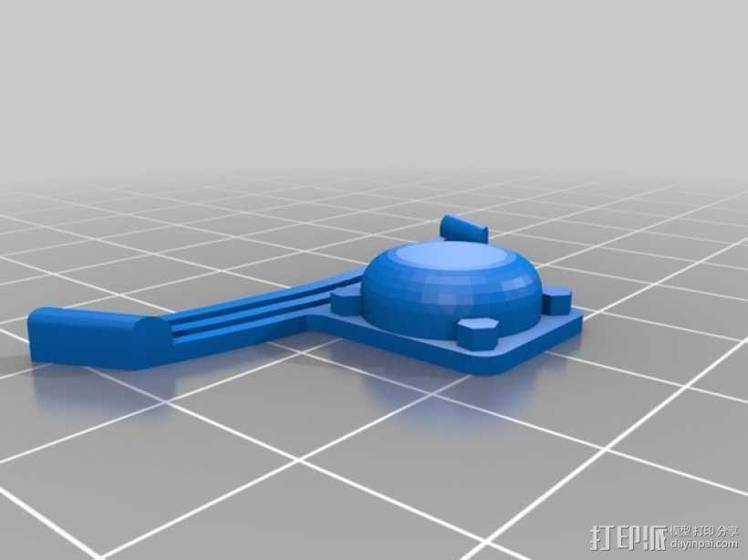 火车模型 3D模型  图3