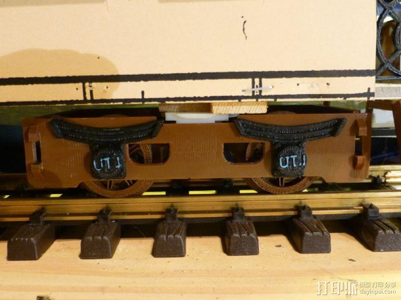火车模型 3D模型  图4