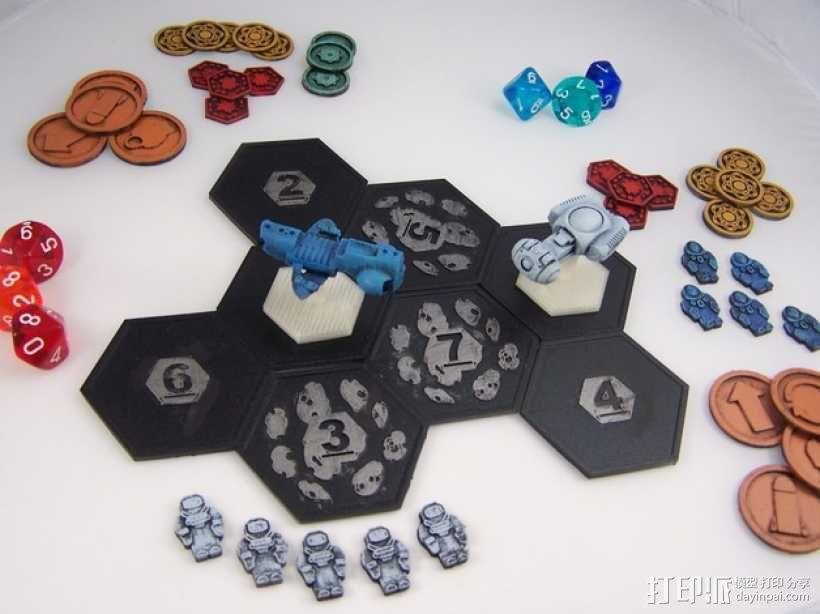 战争游戏模型 3D模型  图1