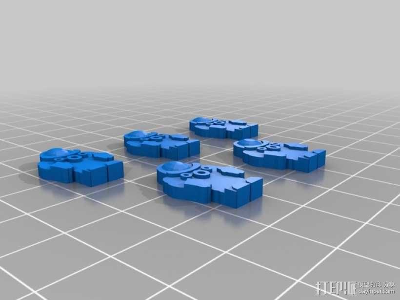 战争游戏模型 3D模型  图14
