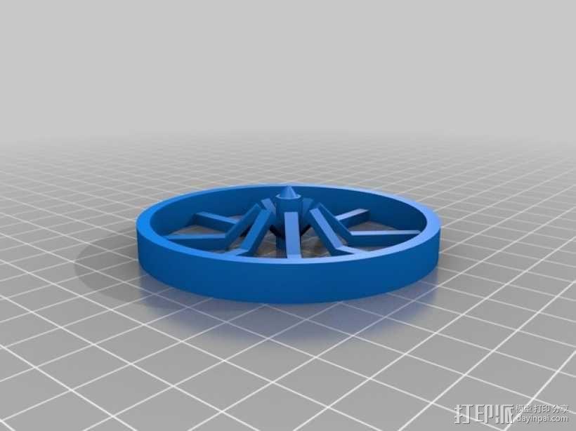 迷你陀螺 3D模型  图2