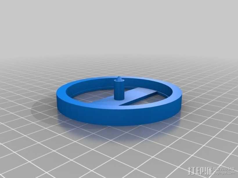 迷你陀螺 3D模型  图4