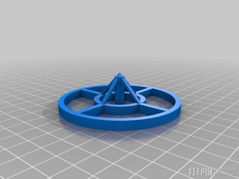迷你陀螺 3D模型  图9