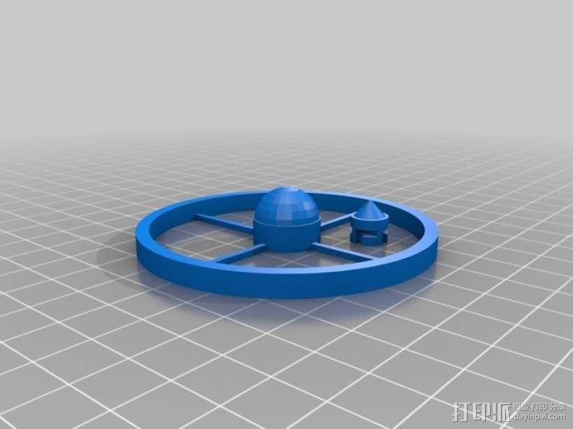 迷你陀螺 3D模型  图11