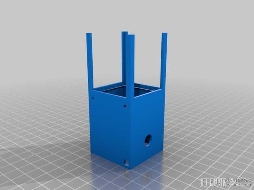 爆米花形照明灯 3D模型  图2