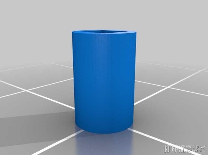 爆米花形照明灯 3D模型  图6