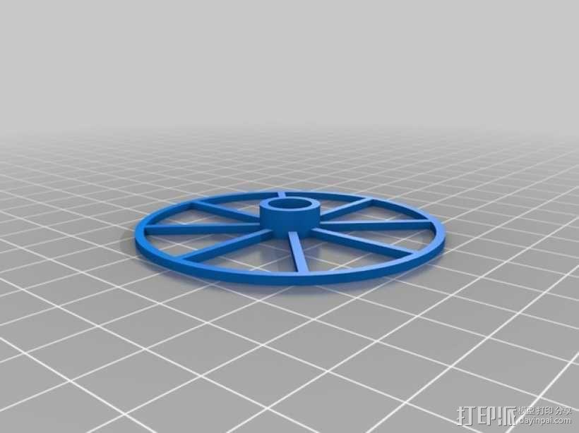 爆米花形照明灯 3D模型  图7
