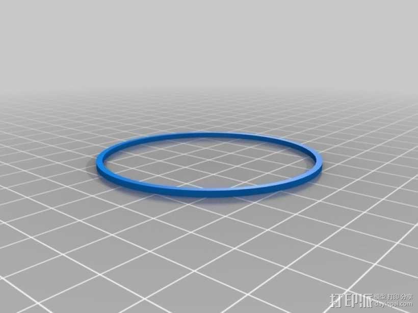 爆米花形照明灯 3D模型  图8