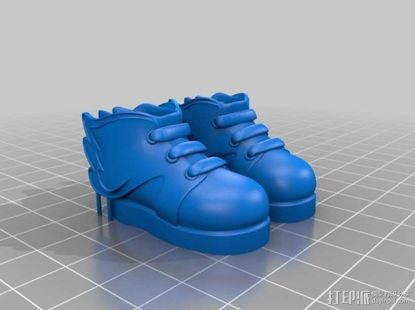 Makies鞋子 3D模型  图2