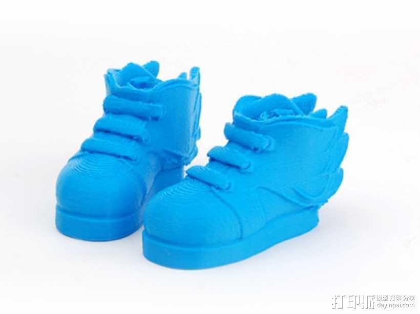 Makies鞋子 3D模型  图1