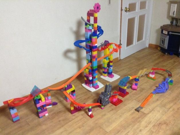 玩具适配器 3D模型  图1