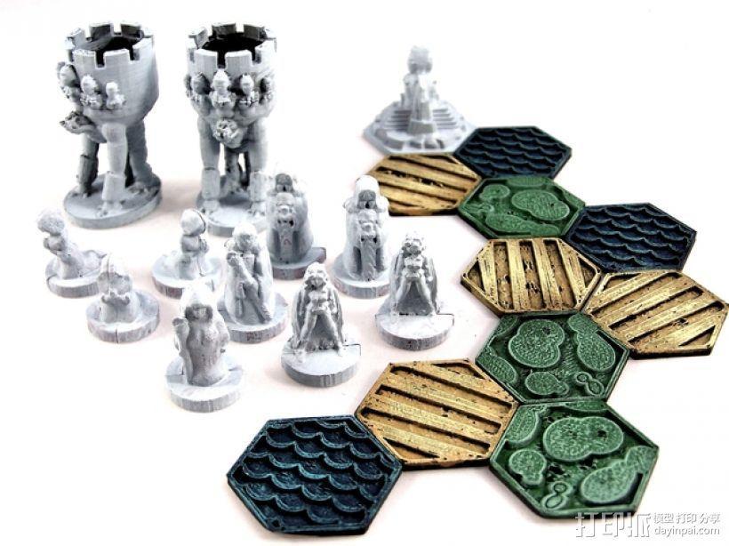 《Pocket-Tactics》战略游戏 3D模型  图1