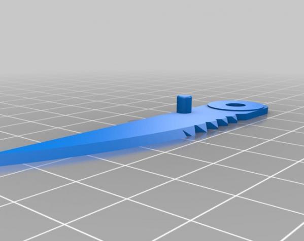 迷你小刀 3D模型  图2