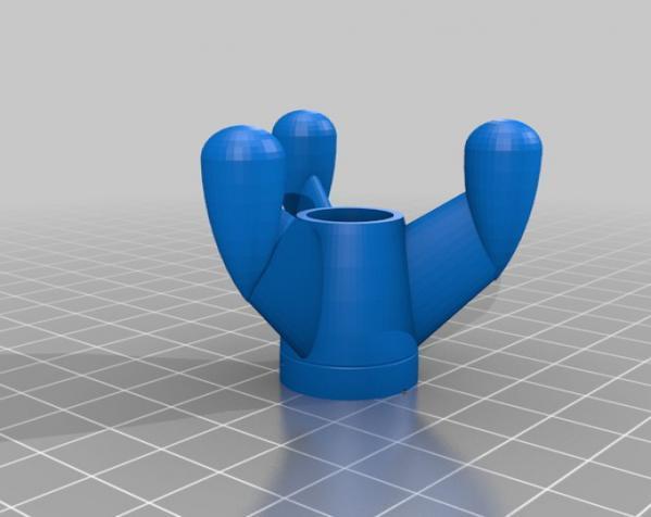 会发光的火箭 3D模型  图4