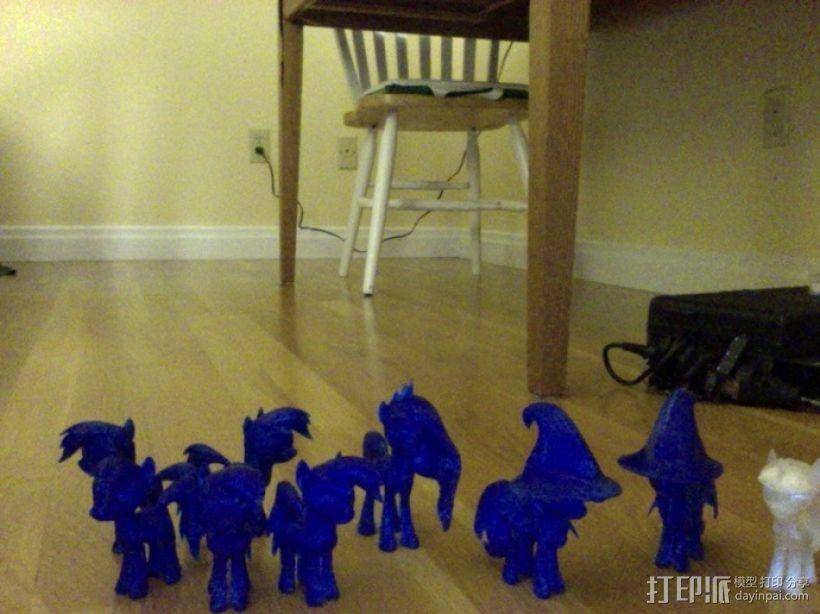 迷你小马驹 3D模型  图1