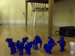 迷你小马驹 3D模型