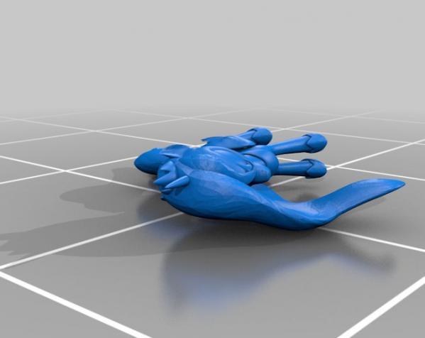 迷你小马驹 3D模型  图4