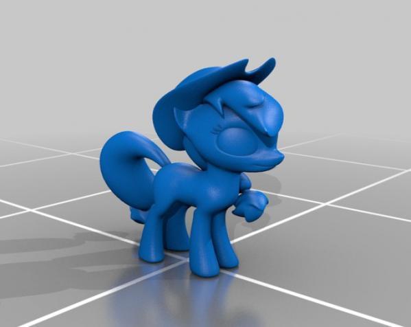 迷你小马驹 3D模型  图9