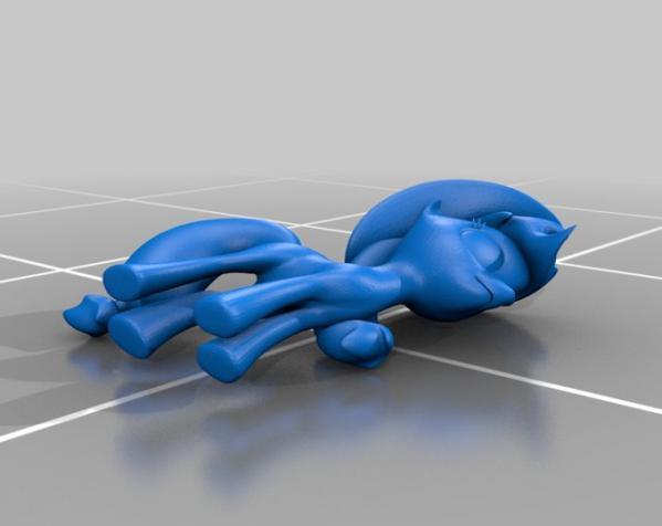 迷你小马驹 3D模型  图10