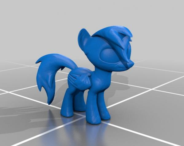迷你小马驹 3D模型  图11