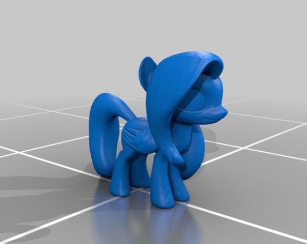 迷你小马驹 3D模型  图13