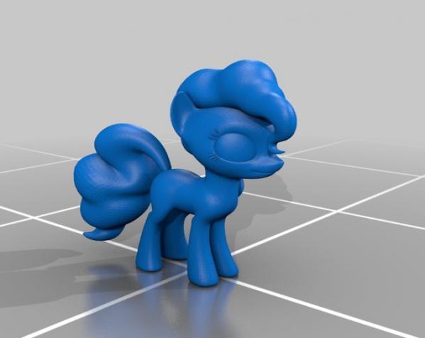 迷你小马驹 3D模型  图19
