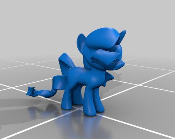 迷你小马驹 3D模型  图22