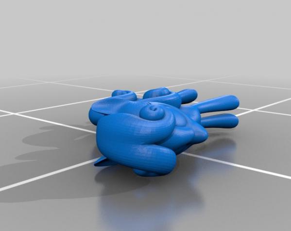 迷你小马驹 3D模型  图25