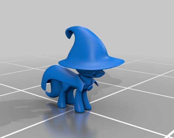 迷你小马驹 3D模型  图27