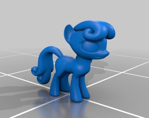 迷你小马驹 3D模型  图31