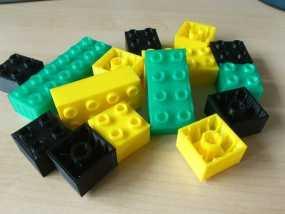 得宝方块 3D模型