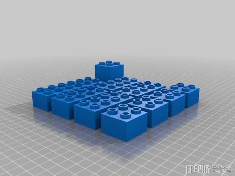 得宝方块 3D模型  图2