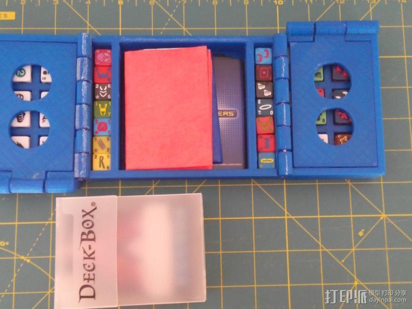 卡片盒 3D模型  图1