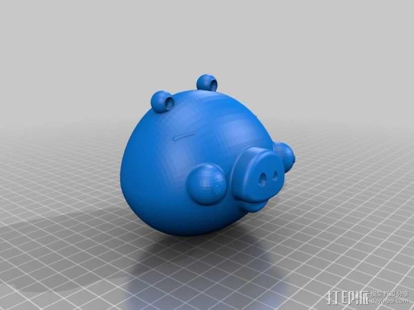绿头猪 3D模型  图1