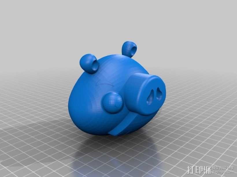 绿头猪 3D模型  图2