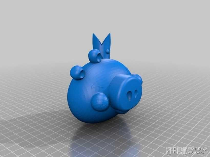 绿头猪 3D模型  图5