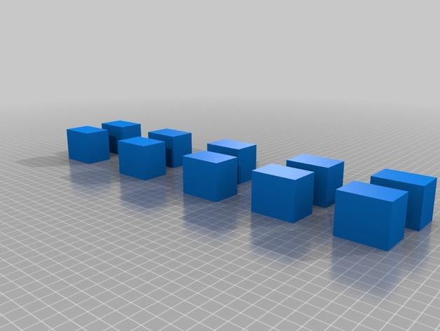 几何方块 3D模型  图7