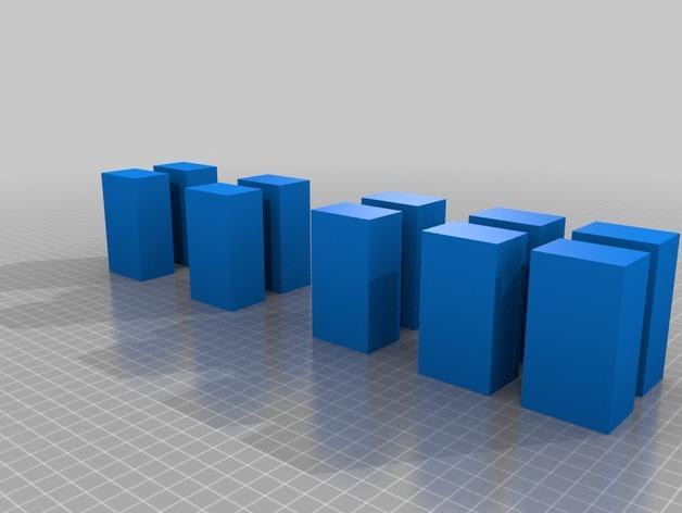 几何方块 3D模型  图8