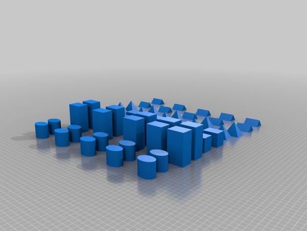 几何方块 3D模型  图9