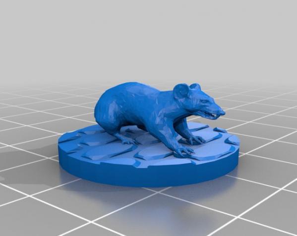 凶暴鼠 3D模型  图2