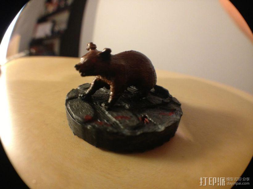 凶暴鼠 3D模型  图4