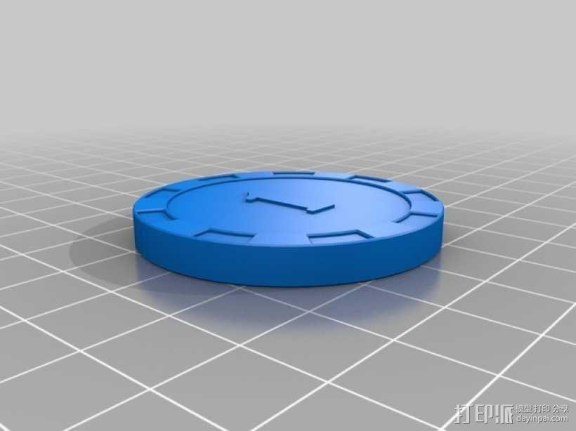 游戏筹码 3D模型  图2
