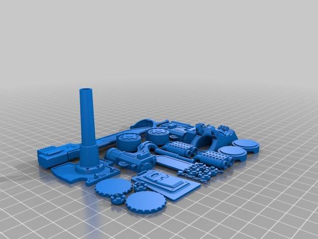 帝国骑士  3D模型  图6