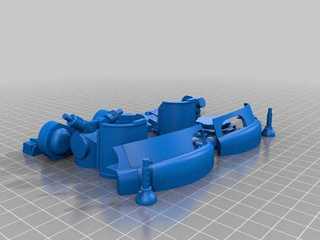 帝国骑士  3D模型  图7