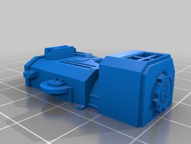 帝国骑士  3D模型  图17