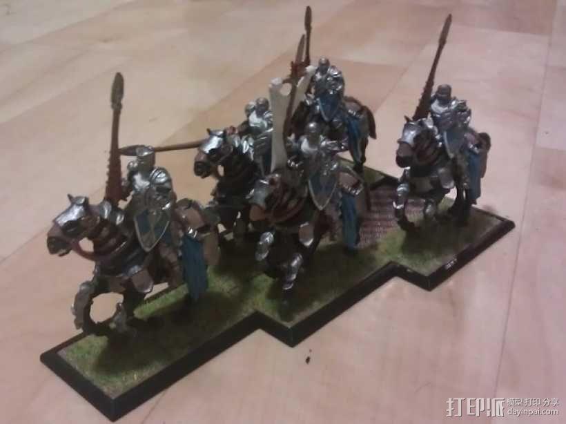 骑兵 3D模型  图2