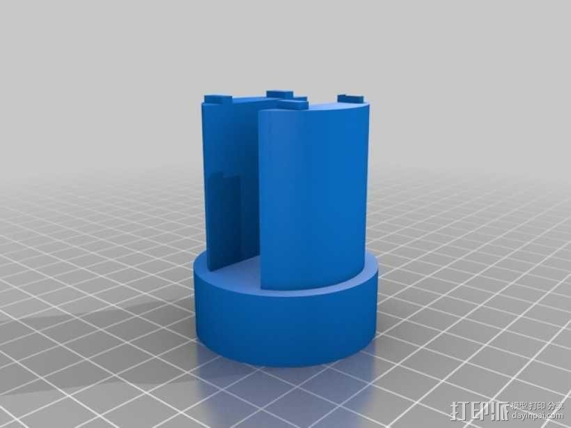 航天发射器 3D模型  图3
